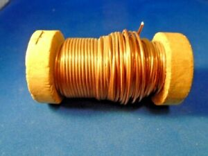 Copper Wire 14 Gage 13 98 Oz A Partial Spool