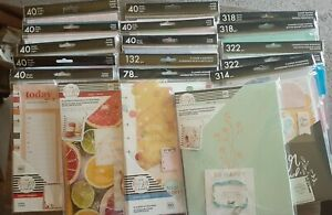 Mixed Lot Of 17 The Happy Planner Girl Teacher Budget Fitness Squad Goal