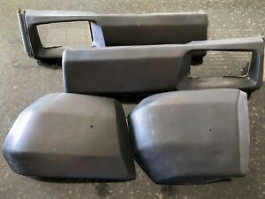 Fiat 124 2000 Spider Front Bumper Pad Rubber Set All 4 Pieces In Good Shape