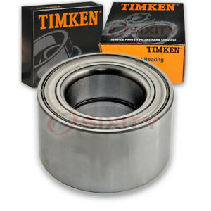 Timken Front Wheel Bearing For 2000 2001 Infiniti I30 Left Right Driver Cq