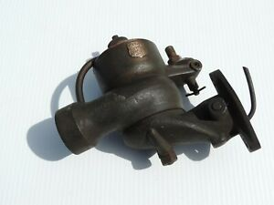Vintage Teens 1920 S International Harvester Brass Ensign Carburetor