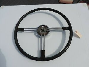 1952 Buick Super Original Banjo Steering Wheel Core Driver Restore Rat Rod