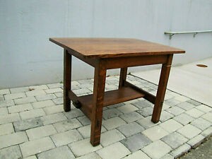 L Jg Stickley Good Table Antique W5403