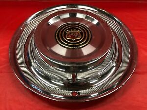 Vintage 1958 Buick 15 Hubcap Good Condition