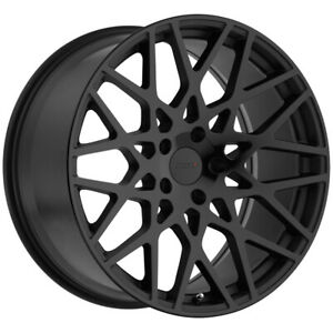 Staggered Tsw Vale Front 19x8 5 Rear 19x9 5 5x112 Double Black Wheels Rims