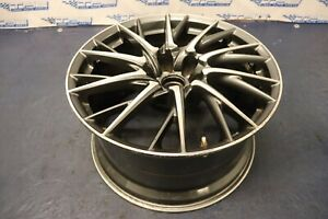 2015 Lexus Rc F Coupe F Sport Rwd Oem Wheel 19x10 41offset Curb Rash 3 3 1244