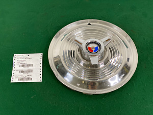 1963 1964 Ford Galaxie 500xl 406 427 Spinner Wheel Cover Hubcap 15 Oem Nice
