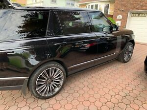 Land Rover Range Rover Sport Oem 22 9012 Gloss Dark Grey W Contrast Diamond