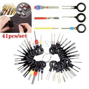 41pcs Terminal Removal Tools Car Electrical Wiring Connector Pin Extractor Kit