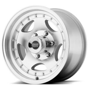 American Racing Ar23 16x8 8x170 0mm Machined Wheel Rim 16 Inch