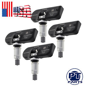 4x Tpms Tire Pressure Monitor Sensor Fits For Chrysler Pacifica Town Country