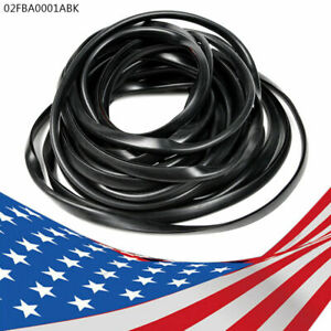 000044 01 Universal Replacement Wiper Style Fender Flare Edge Trim 30 Ft New