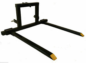 Titan 3 Point Hitch Pallet Fork Attachment Category 1 Tractor