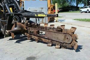 Toro Dingo 24 By 6 Mini Skid Steer Loader Trencher Attachment
