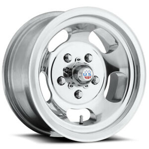 4 Us Mags U101 Indy 15x7 5x4 5mm Polished Wheels Rims 15 Inch