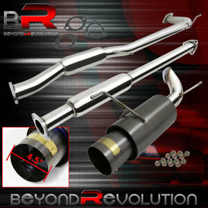 For 1998 2002 Honda Accord F23 Performance Catback Exhaust System Racing Jdm