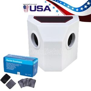 Dental Portable X ray Film Processor Developer Darkroom Box barrier Envelopes