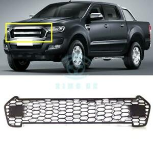 For Ford Ranger T6 2015 2016 Black Front Grille Vent Replace Trim