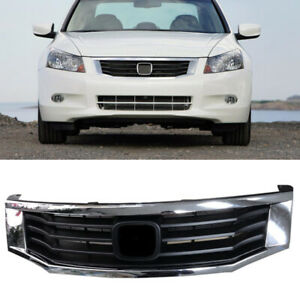 Auto Fit For Honda Accord 2008 2010 Front Grill Grille Vent Retrofit Replace