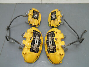 2012 12 13 14 Cadillac Cts V Cts V Yellow Brembo Brake Caliper Set 6974