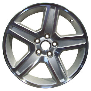 Oem Used 18x7 5 Alloy Wheel Rim Sparkle Silver Textured With Machined Face 2326