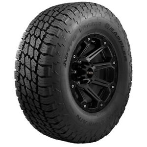4 p255 70r17 Nitto Terra Grappler At 110s B 4 Ply Bsw Tires