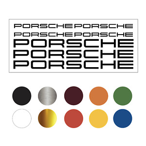 Parts For Porshe Car Decal Vinyl Sticker Sticker Buy 1 Get 1 Free