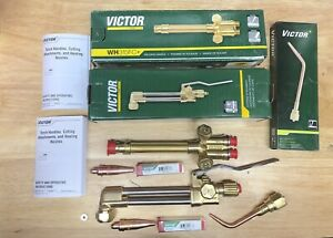 New Victor Journeyman Cutting Welding Torch Set Ca2460 315fc brazing 2 Tips