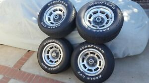 1978 Corvette Wheels With Goodyear Eagle Gt Ii Tires