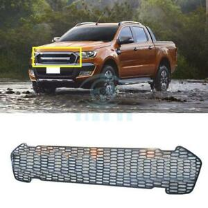 For Ford Ranger T6 2015 2016 1pc Black Front Grille Vent Replace Trim