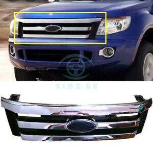 For Ford Ranger T6 2012 2014 Original Oem Chrome Front Grille Vent Replace Trim