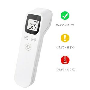 Non Contact Digital Ir Laser Infrared Forehead Thermometer Gun Adult Body Temp