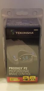 Tekonsha Prodigy P2 Pre Wired Electric Trailer Brake Control 90885c Brand New