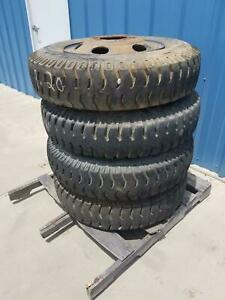 Used Set Of 4 Military 900 20 Pacifica Tire On Wheel