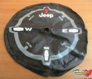 2018 2020 Jeep Wrangler Jl 32 Spare Tire Cover Compatible W Back Up Camera Oem