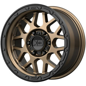 4 Xd Series Xd135 Grenade Or 17x8 5 6x135 0mm Bronze Black Wheels Rims 17 Inch