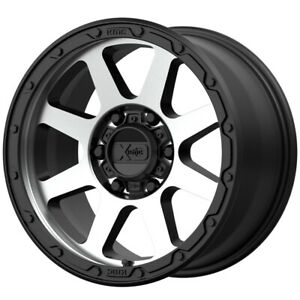 4 Xd Series Xd134 Addict 2 17x9 8x6 5 18mm Matte Black Wheels Rims 17 Inch