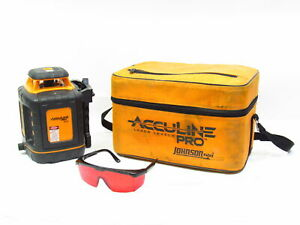 Johnson 40 6527 Acculine Pro Self leveling Rotary Laser Level Tool