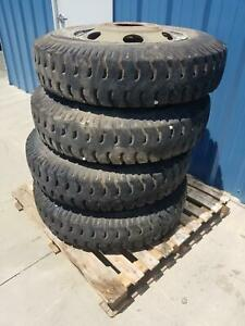 Used Set Of 4 Military 900 20 Gajah Tunggal Tire On Wheel 12ply