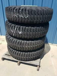 Used Set Of 4 Military 1200 20 Mcceary Tire On Wheel