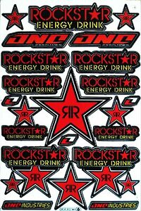 Red Rockstar Energy Yoshimura Metal Mulisha Racing Sticker Ktm Motorrcross