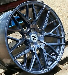20 Arctic Forged Downforce Dc10 Wheels 20x10 40mm 5x114 3 Flow Formed Mustang