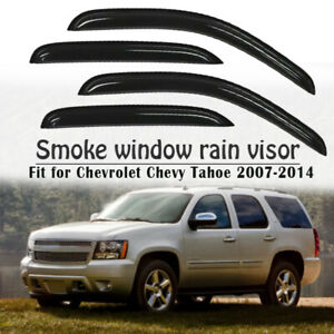 For Chevy Chevrolet Tahoe 07 2014 Window Visors Side Rain Guard Vent Deflectors