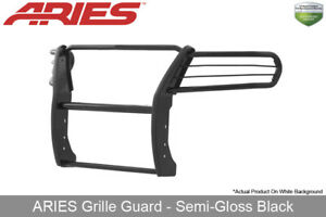 Aries Black Semi Gloss Grille Brush Guard For 2015 20 Chevy Gmc Colorado Canyon