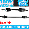 Front 2x Cv Axle Shaft For Mitsubishi Eclipse Turbo Fwd Automatic Transmission