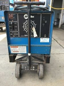 Used Miller Dialarc 250 Ac dc On Cart