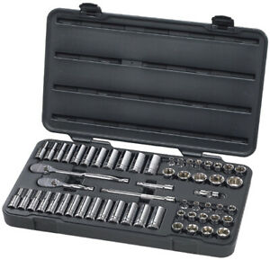 Kd Tools 80550 57 Pc 3 8 Drive 6pt Socket Set Gearwrench