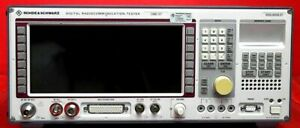 Rohde And Schwarz Cmd57 100015 Communications Test Set W Options