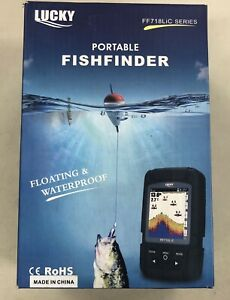Lucky portable fishfinder ff718lic Used Fast Shipping