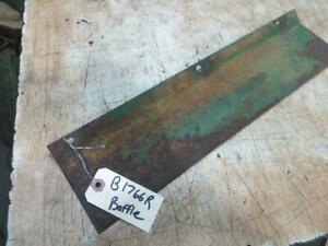 John Deere B Radiator Overflow Baffle Part Number B1766r